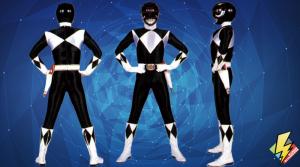 Black Mighty Morphin Power Ranger