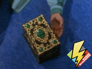 The Power Coin box is captured