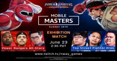 Amazon's MOBILE MASTERS To Feature STREET FIGHTER And POWER RANGERS Pros Face-Off