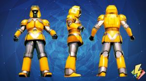Yellow Battle Borg