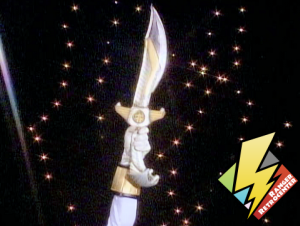 White Ranger receives Saba