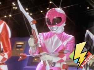 Pink Ranger receives the Power Bow