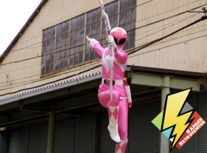 Super Megaforce Pink attacks