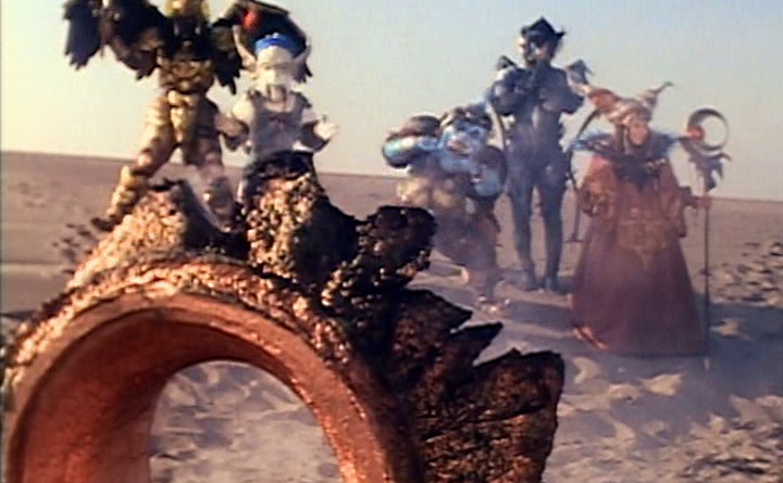 Power Rangers - 1x01 - Day of the Dumpster