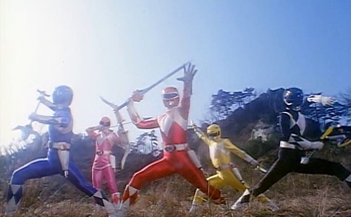 Power Rangers - 1x03 - Teamwork