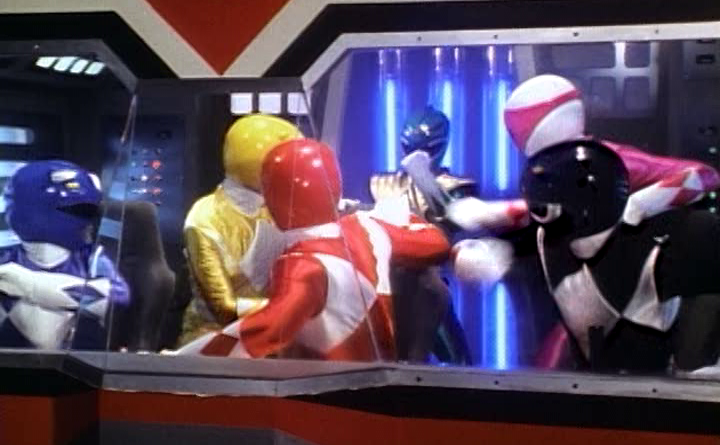 Power Rangers - 1x17 - Green With Evil (1) Out of Control