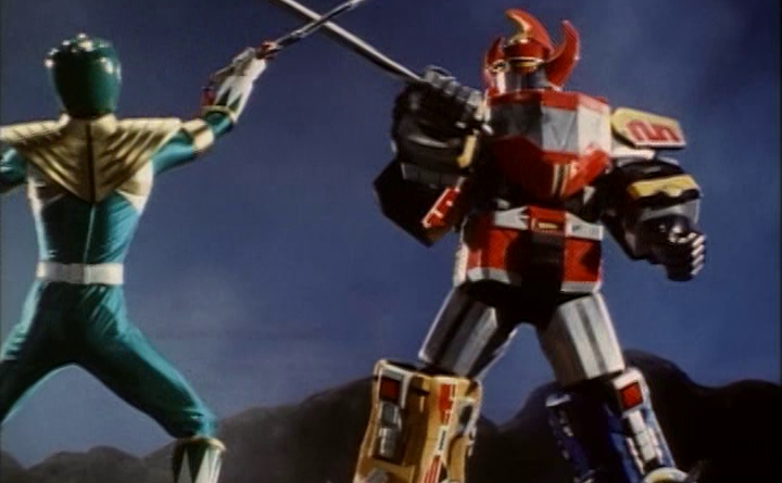 Power Rangers - 1x20 - Green With Evil (4) Eclipsing Megazord