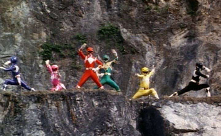 Power Rangers - 1x21 - Green With Evil (5) Breaking the Spell