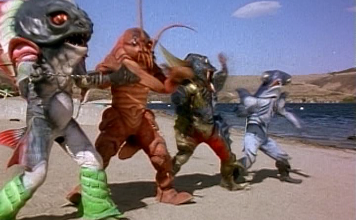 Power Rangers - 2x38 - A Reel Fish Story
