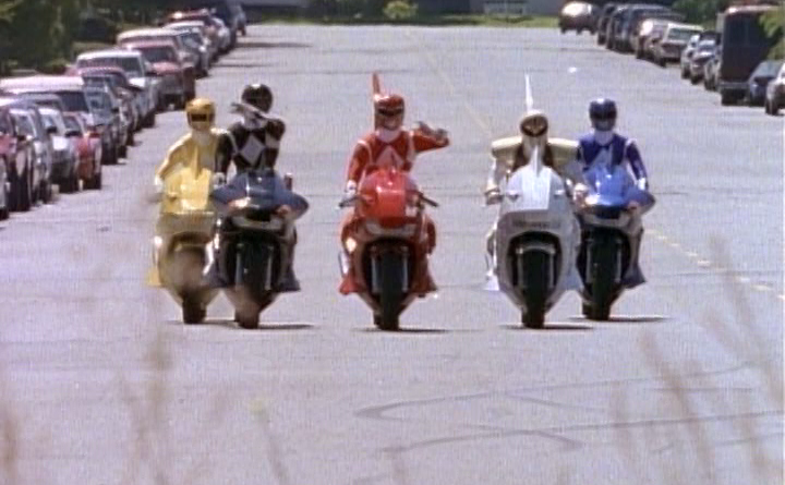 Power Rangers - 3x21 - Follow That Cab!