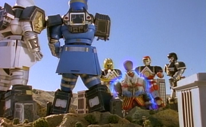 Power Rangers - 3x27 - A Chimp in Charge