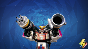 Rescue Megazord with Artillery Power