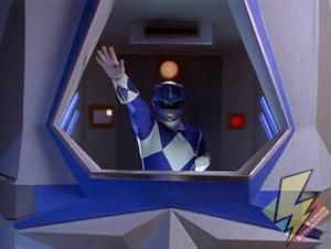 Blue Shogunzord cockpit