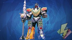 Dragonzord Fighting Mode transformed