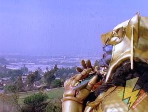 Goldar controls the Dragonzord