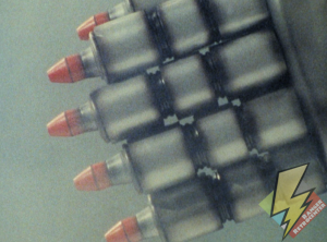 Dragonzord missiles ready to fire