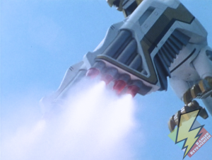 Falconzord rocket attack