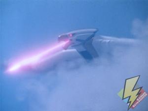 Falconzord laser attack
