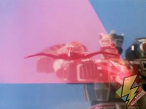 Mega Tigerzord's Firebird attack