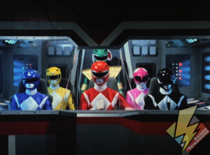 Six Rangers in the cockpit