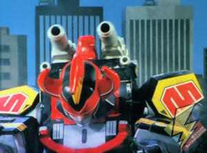 Megazord's cannons
