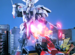 Megazord fires its cannons