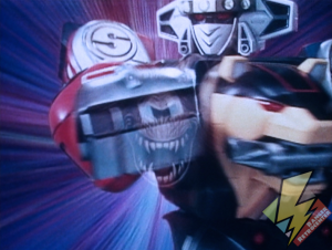 Ninja Megazord Ape punch