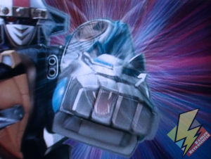 Ninja Megazord Wolf punch