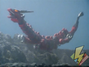 Red Dragon soaring into battle