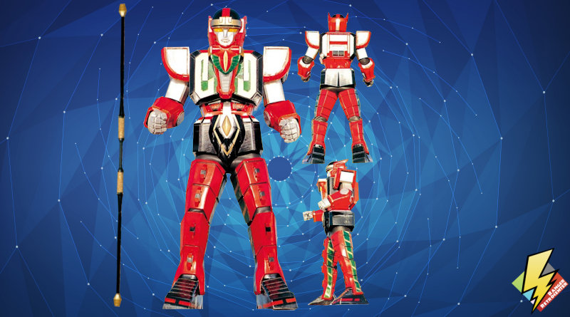 Red Dragon Thunderzord (Warrior Mode)