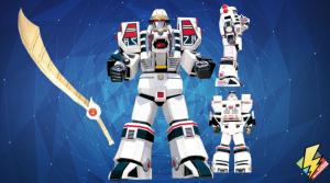 White Tigerzord (Warrior Mode)