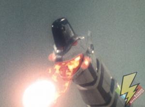 Titanus shooting fireballs