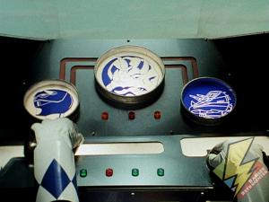 Triceratops cockpit controls