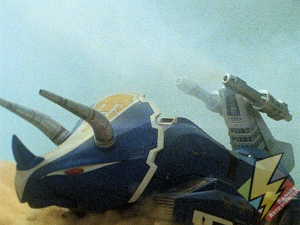 Triceratops tail cannons