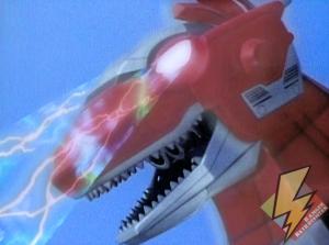Tyrannosaurus under Zedd's control
