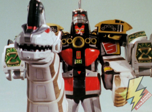 Ultrazord stands victorious