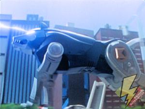 Wolf Ninjazord laser beams