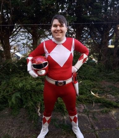 Meet the 27-year-old Power Rangers superfan