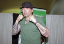 SHOW MUST GO GO ON Comic Con Scotland: Power Rangers icon Jason David Frank will never stop meeting fans despite one trying to SHOOT him