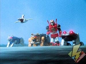 The new Ninjazords meet the Rangers