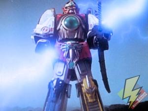 Thunder Megazord ready