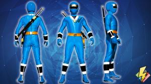 Blue Aquitar Ranger