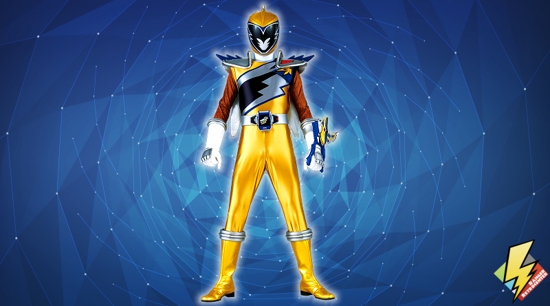 Dino Charge Gold Ranger
