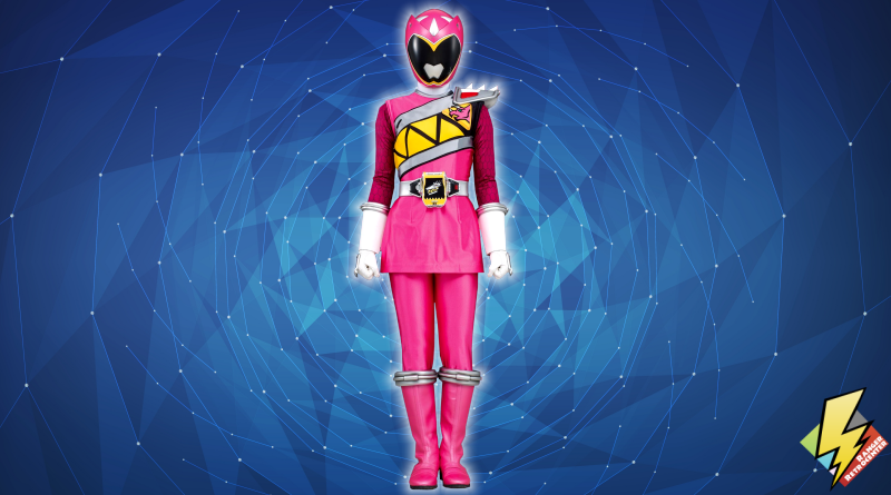 Dino Charge Pink Ranger