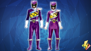 Dino Charge Purple Ranger