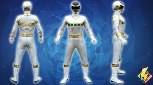 Silver Space Ranger