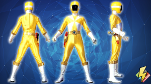 Yellow Lightspeed Ranger