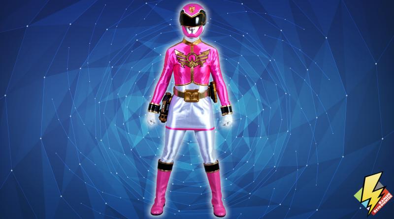 Megaforce Pink Ranger