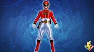 Megaforce Red Ranger