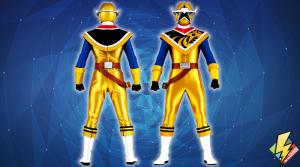 Ninja Steel Gold Ranger